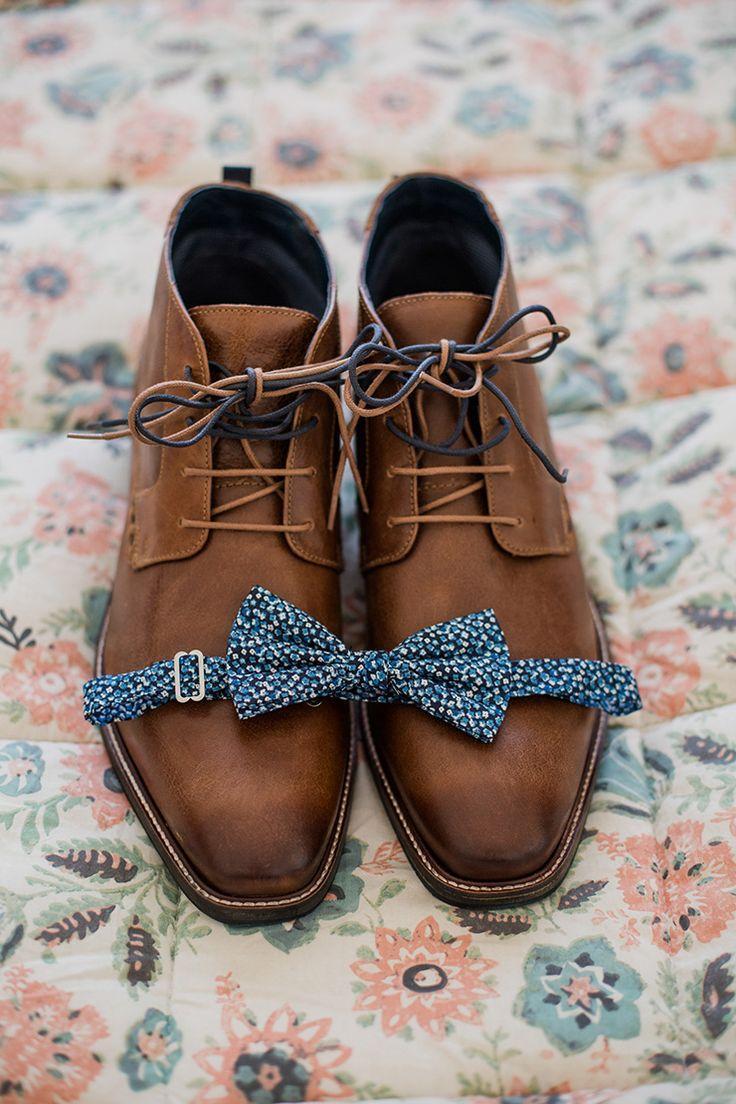 Hochzeit - Bright Groom Shoe