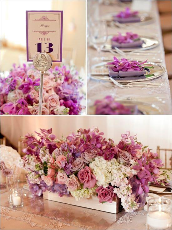 زفاف - Lavender And Ivory Classic Wedding