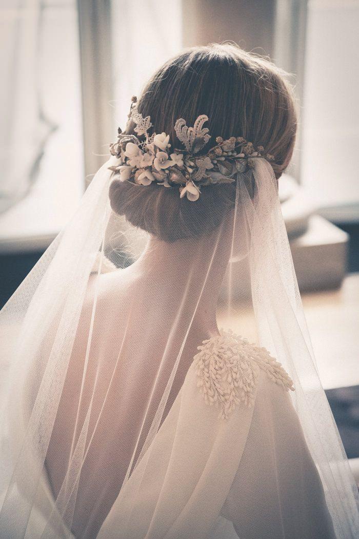 Свадьба - 30 Idées De Coiffures Pour Les Mariées D'hiver