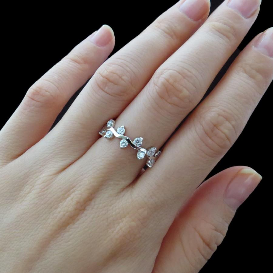 rose silver plated made man engagement ring simulant wedding prong diamond gold ct sterling solitaire promise media