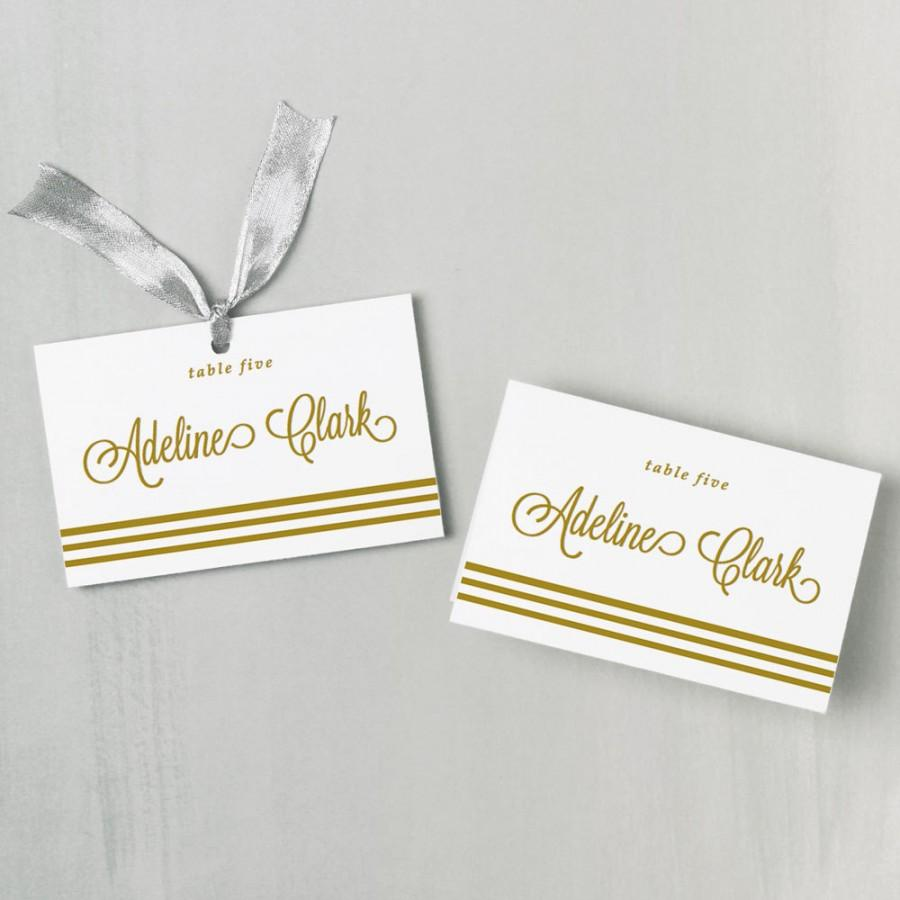Fine Wedding Name Card Template Pictures Inspiration - Examples ...
