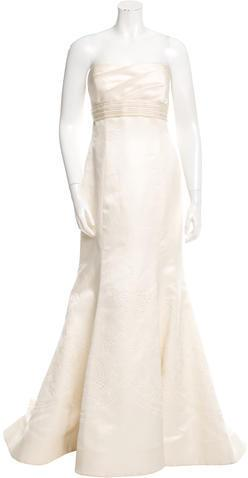 Wedding - Vera Wang Embroidered Wedding Gown