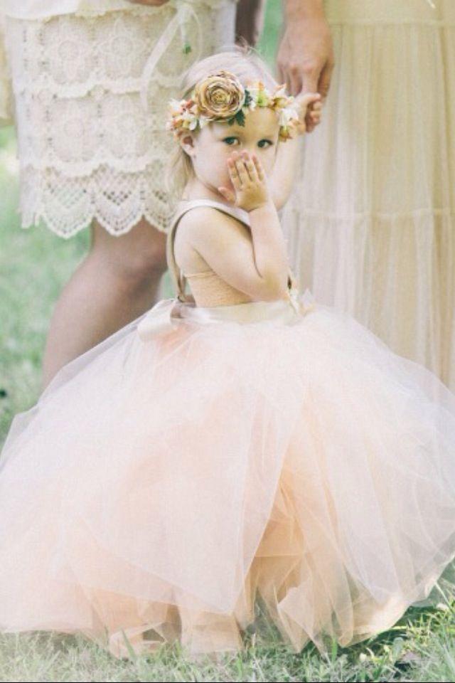 Свадьба - Glam Up Adorable Flower Girls