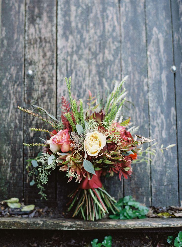 Mariage - Rustic Wedding Bouquet