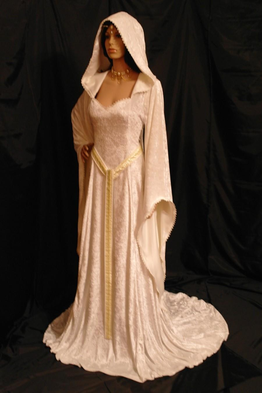 Elven Dress Pixie Dress Medieval Dress Renaissance Dress Fairy