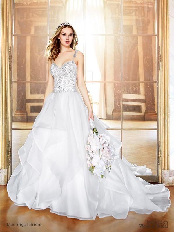 Свадьба - Moonlight Bridal Fall 2016 Wedding Dresses