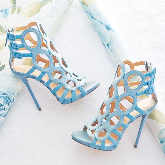 Mariage - Baby Blue Heel