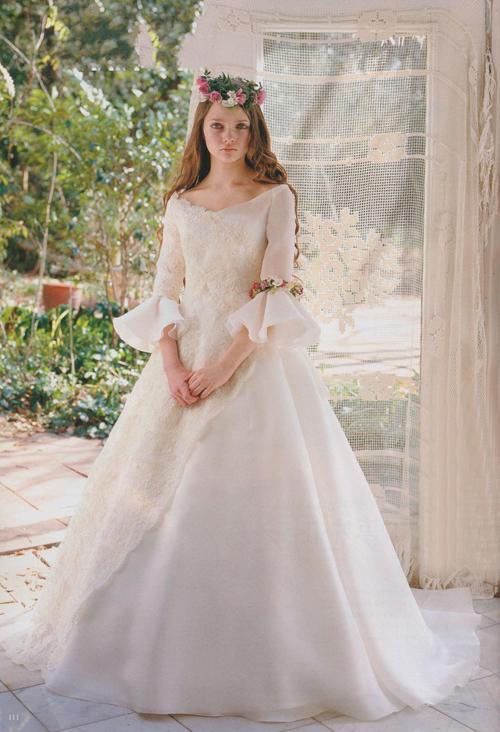 Свадьба - Princess Fair Tale Victorian Style Wedding Dress
