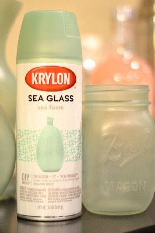 Wedding Theme Krylon Sea Glass Vases 2542623 Weddbook