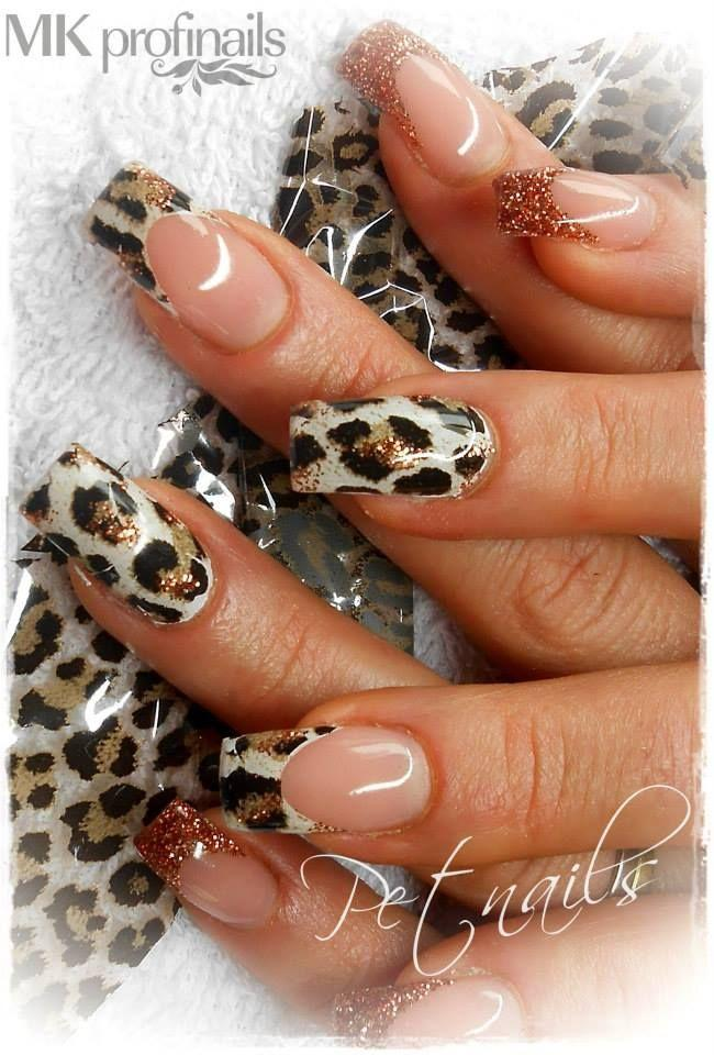 50 Cheetah Nail Designs - Nail - 50 Cheetah Nail Designs #2542630 - Weddbook