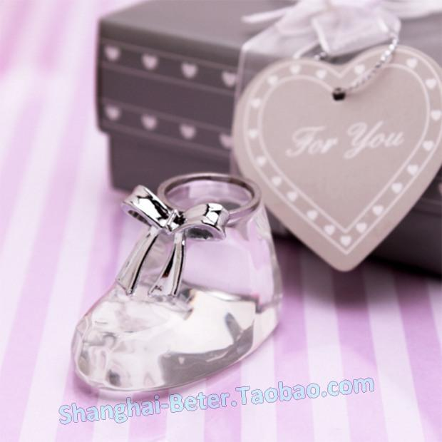 زفاف - 水晶小靴子寶寶滿月酒誕生生日派對禮品BETER-SJ017小朋友幼稚園畢業禮