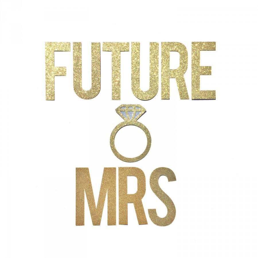 Future Mrs Banner Bridal Shower Banner Decor