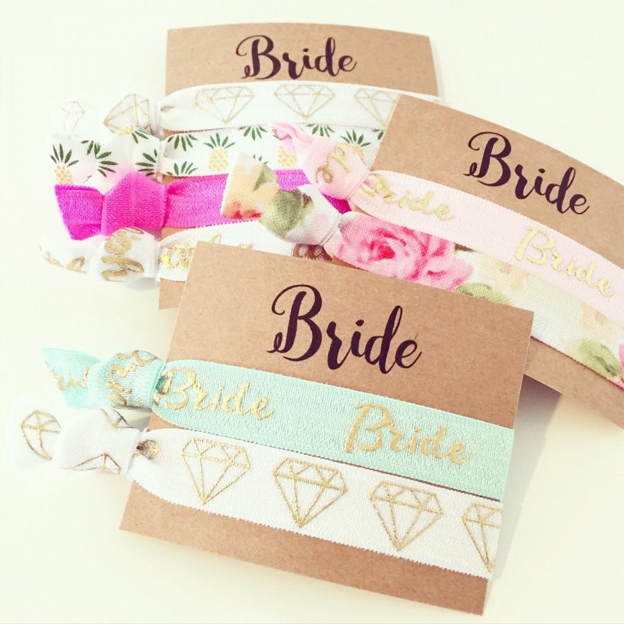 Свадьба - NEW! Bride Hair Ties