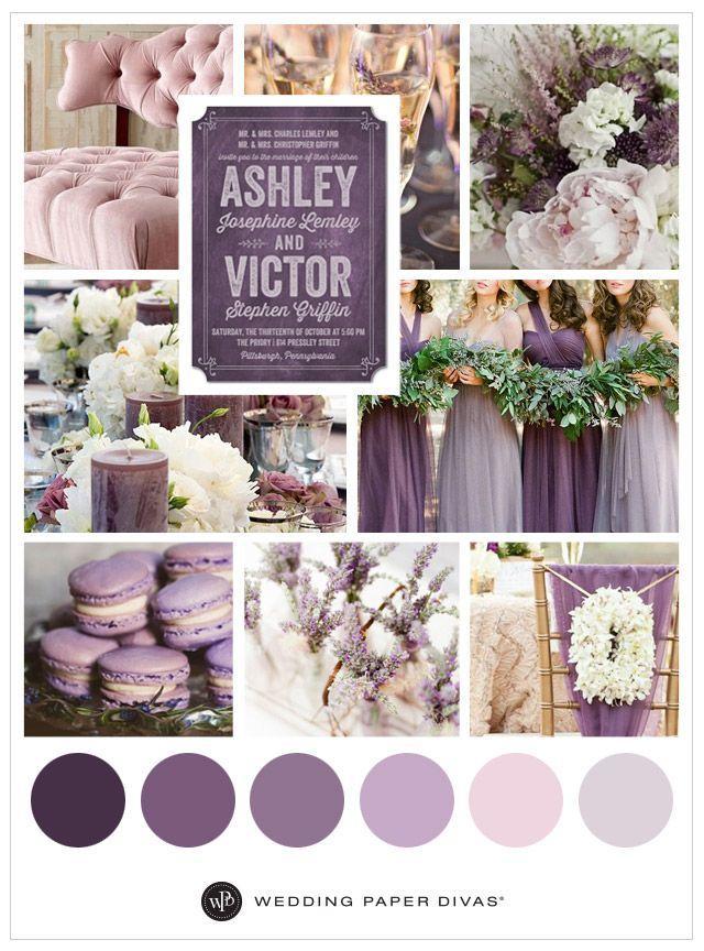 Wedding Theme - Purple Wedding Theme Ideas #2543215 - Weddbook