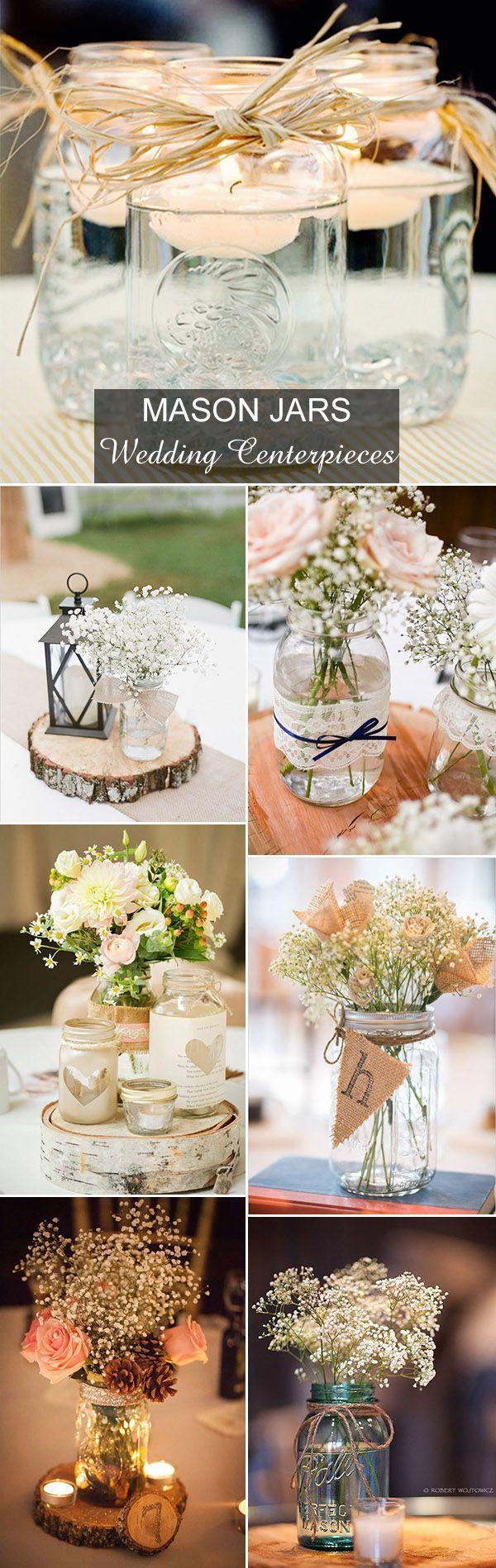 Свадьба - Rustic Wedding Ideas: 30 Ways To Use Mason Jars