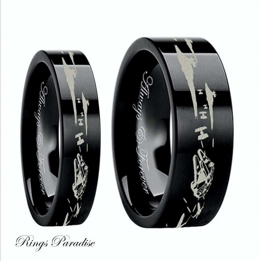star wars couples wedding bands star wars wedding ring With star wars mens wedding ring