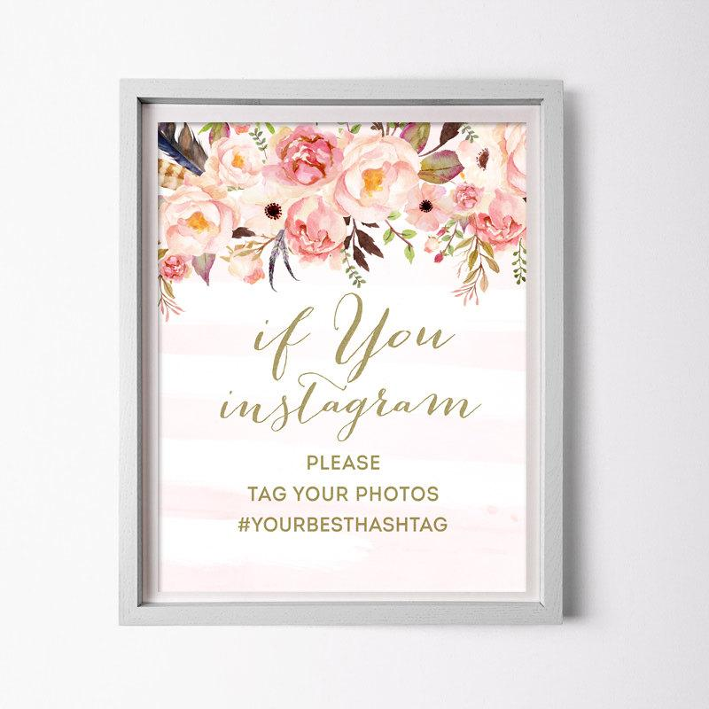 Instagram Wedding Sign Generator | Invitationsjdi org