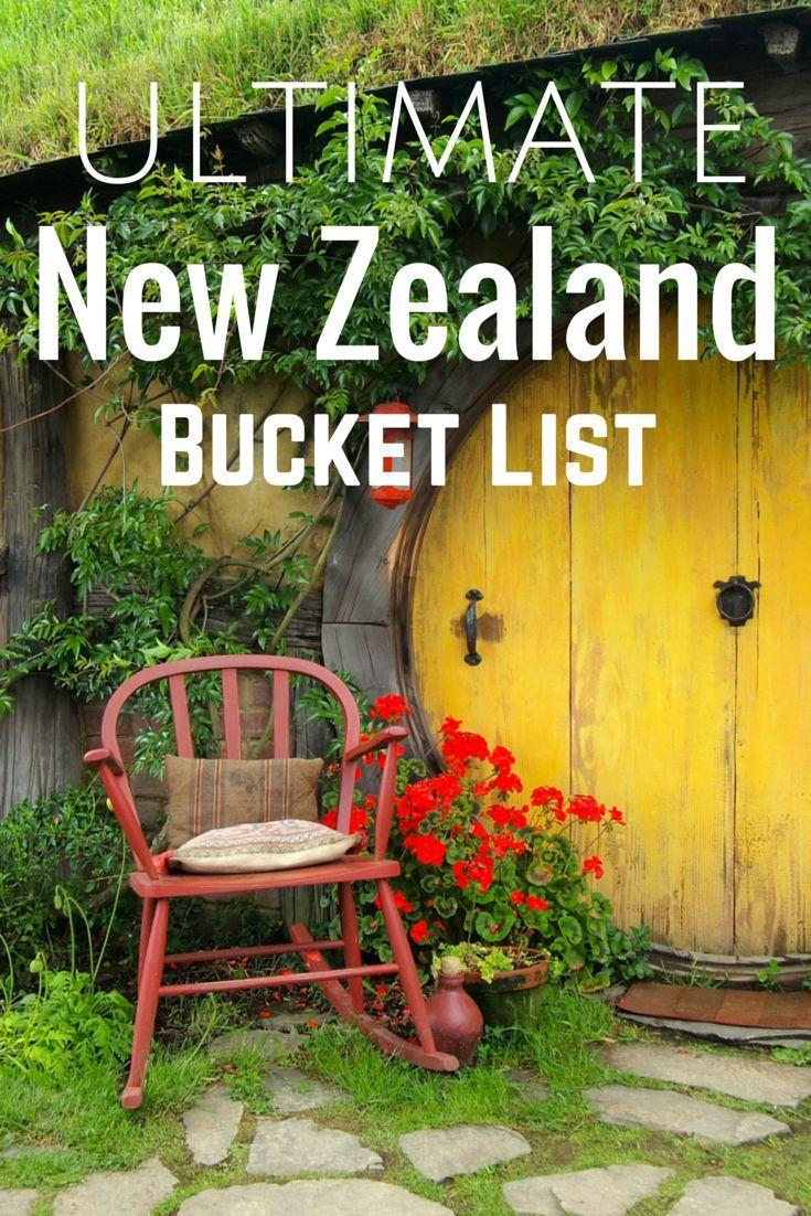 Mariage - The Ultimate New Zealand Bucket List