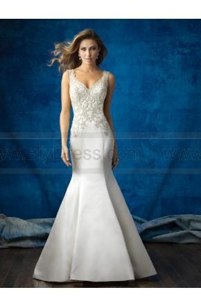 Hochzeit - Allure Bridals Wedding Dress Style 9362