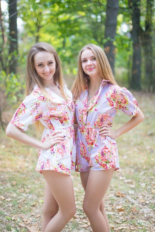 Rompers By Silkandmore Cute Getting Ready Outfit For The Wedding Day Alternative To Bridesmaids Robes Gifts Bridal Shower