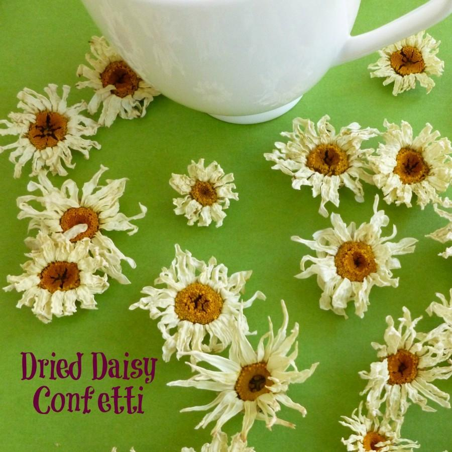 Wedding - White Daisy, Dried Shasta Daisies, Craft Supplies, Real Flowers, Craft Supply, Confetti, Pot Pourri, Sachet, Wedding, Decor, 30 Real Flowers