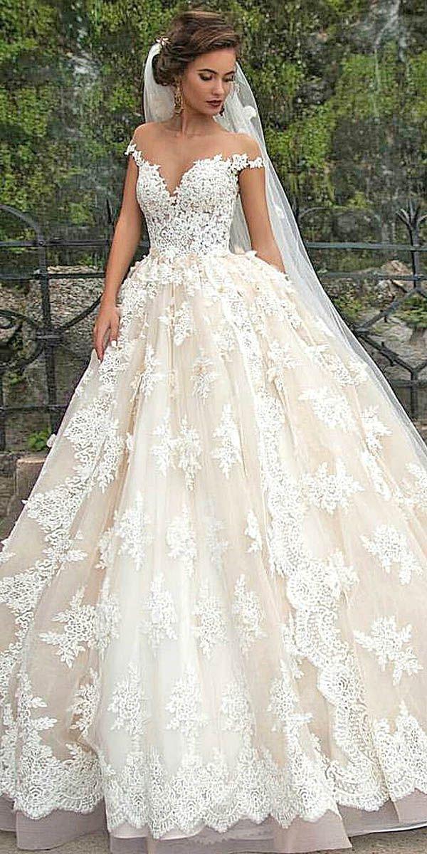 Свадьба - Disney Off Shoulder Wedding Dresses Via Milla Nova