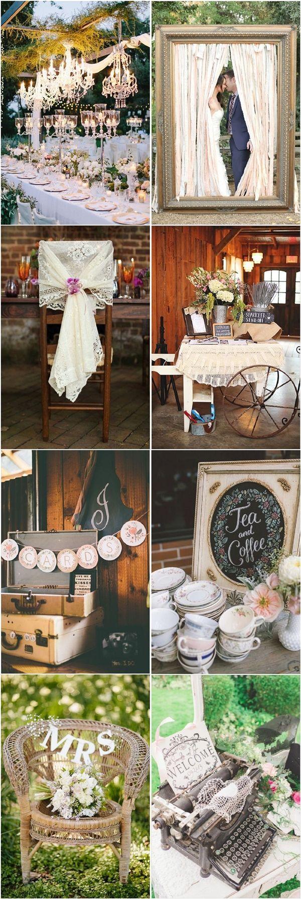 28 Vintage Wedding Ideas For Spring Summer Weddings 2544010 Weddbook