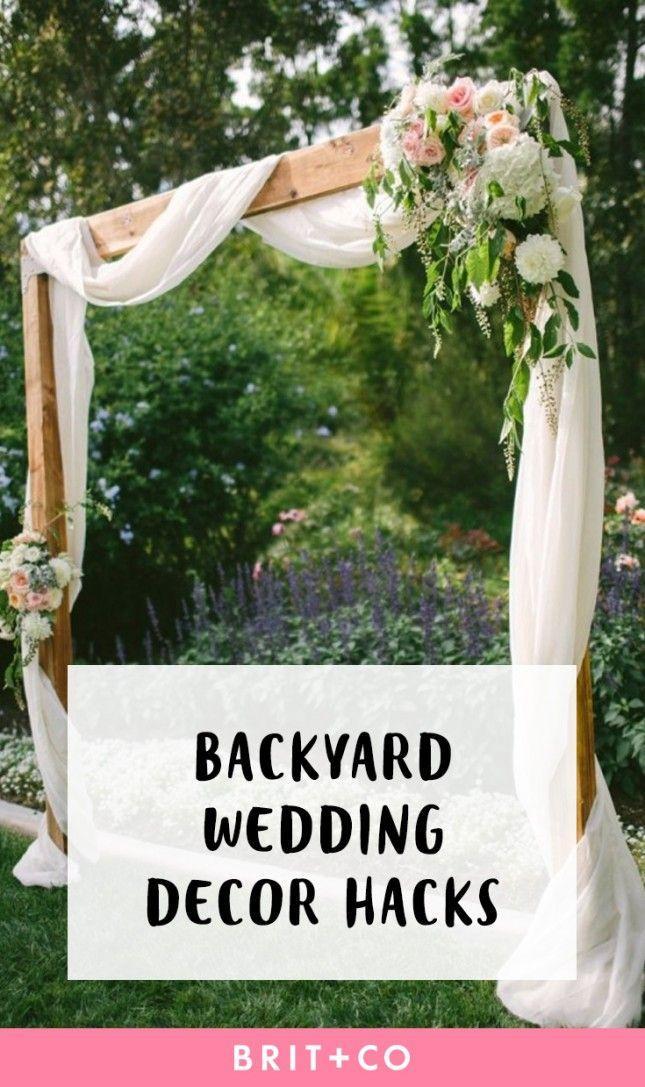 Wedding - 14 Backyard Wedding Decor Hacks For The Most Insta-Worthy Nuptials EVER