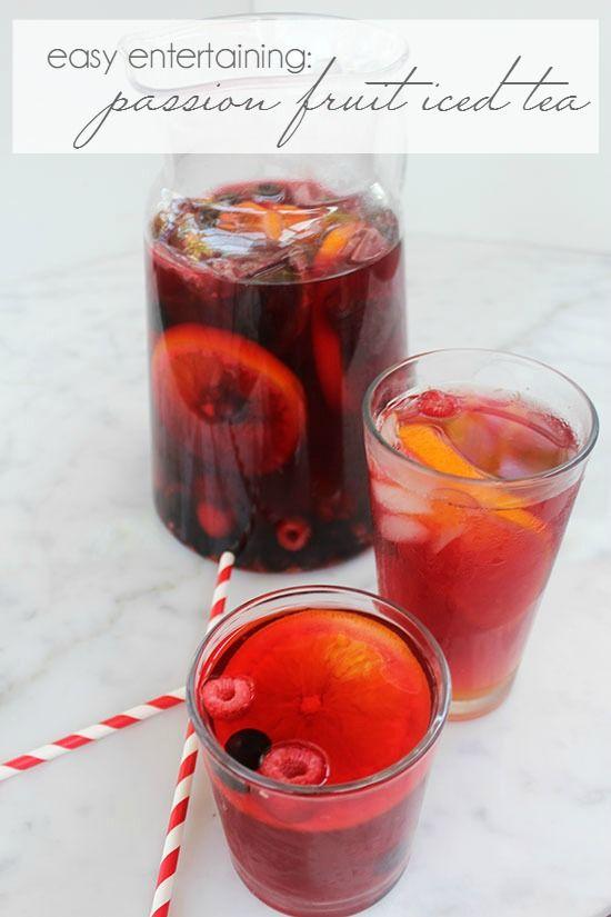 Wedding - Passion Fruit Iced Tea