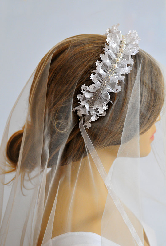 Свадьба - wedding headband, lace headband, hairband, Bridal, Headpiece, wedding Accessory, bride, gift, women, wedding fashion, etsy wedding, weddings