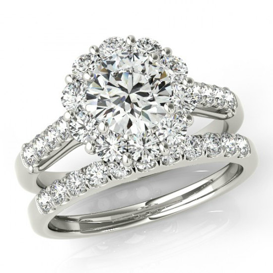 Moissanite Wedding Sets Bridal Engagement Rings Canada