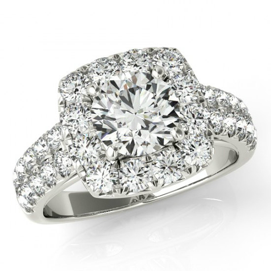 Moissanite Wedding Rings On Finger Australia USA Canada