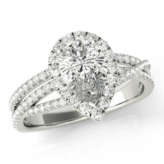 pear moissanite diamond engagement rings carat. Black Bedroom Furniture Sets. Home Design Ideas