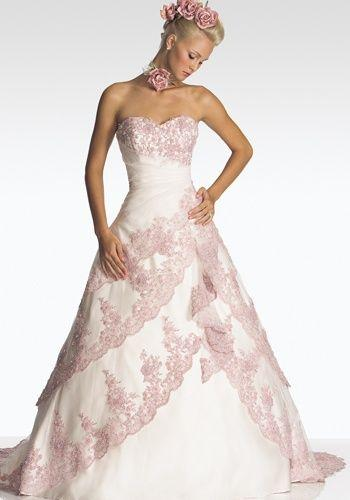 Wedding - Raylia Wedding Dresses With Colors