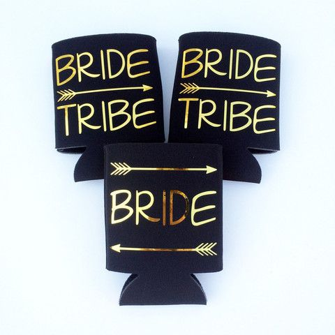 Свадьба - Bride Tribe -- Bachelorette Coozies