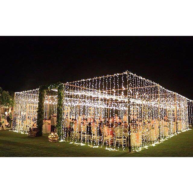"Mariage - The Bali Bride  On Instagram: ""T E N T  W E D D I N G Filled With Fairy Lights By @signatureweds     """