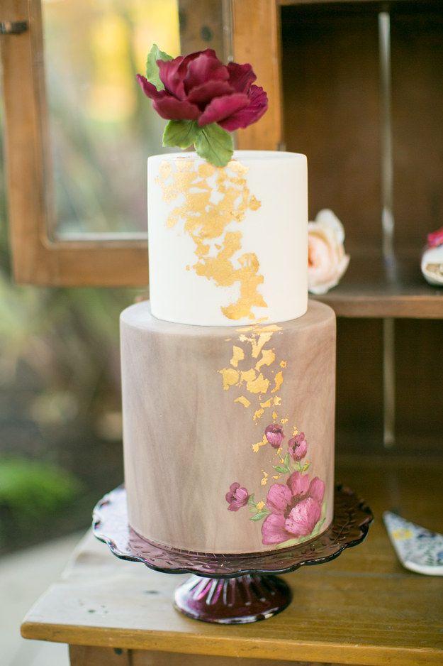 Hochzeit - 25 Incredibly Beautiful Wedding Cakes That Won 2015