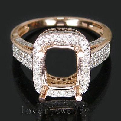 Свадьба - Morganite Ring 14kt Rose gold Morganite Octagon Engagement Ring Coctail or Anniversity