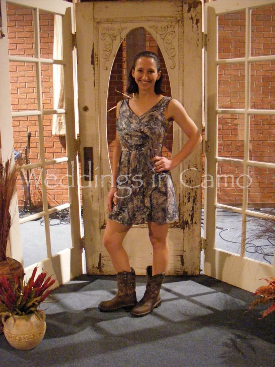 زفاف - CAMO dress Short camo dress