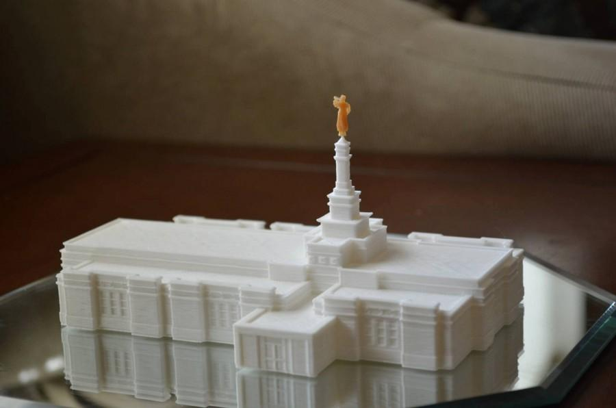Lds Temple Cake Topper