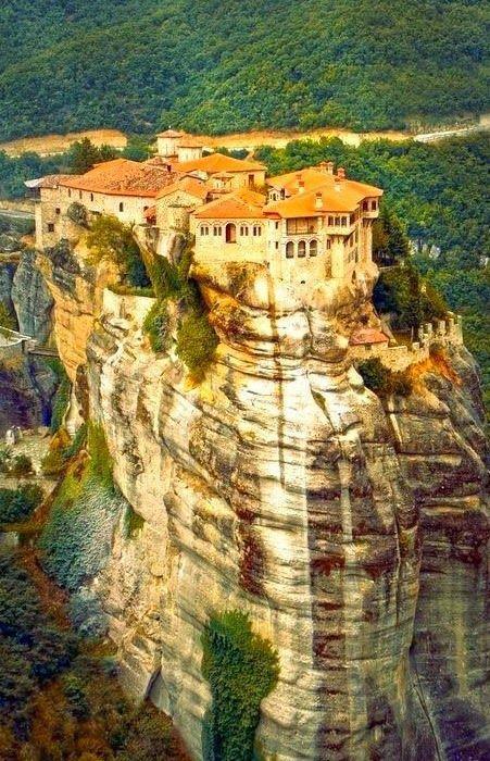 Свадьба - Meteora Monastery In Greece - Picz Mania