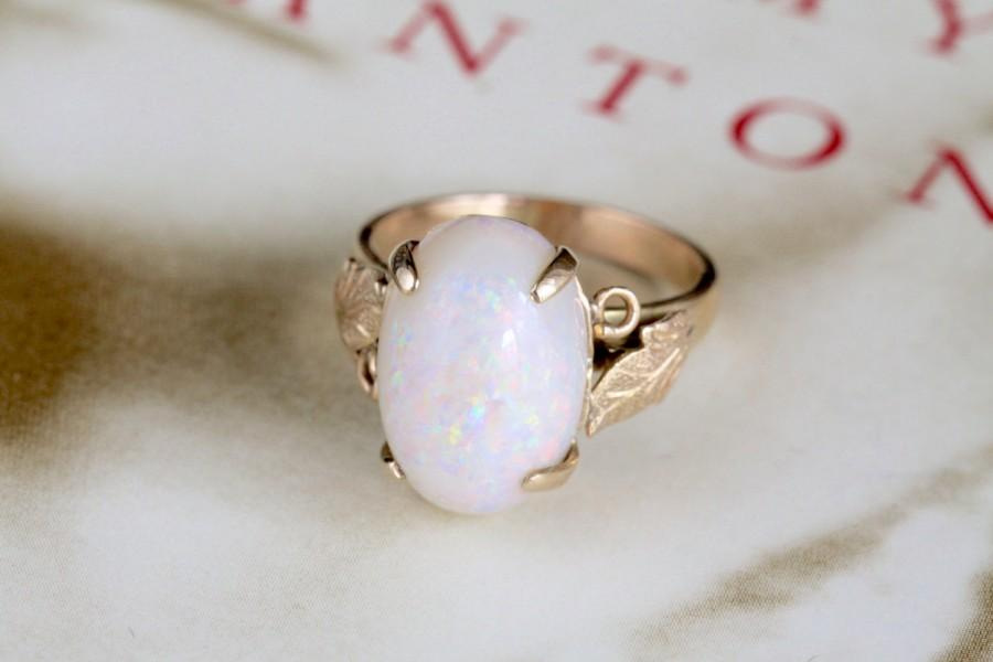 beautiful opal natural ring purple crystal green color rings of in engagement precious white oval diamond yellow gold and pin play australian classic with
