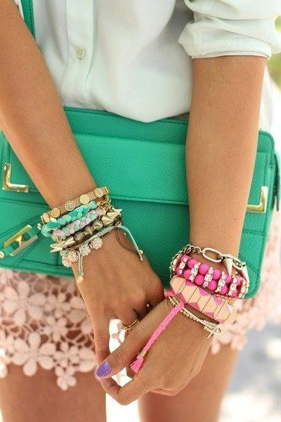 Wedding - How To Stack And Wear Arm Party Bracelets