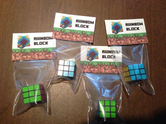 Minecraft Birthday Paty Ideas