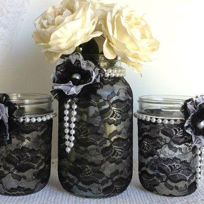 Mariage - Crafty Mason Jar Repurpose Ideas