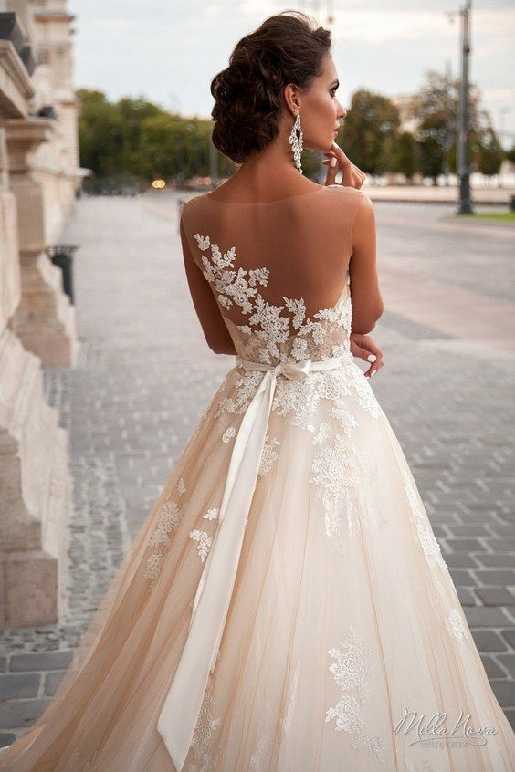 50 beautiful lace wedding dresses to die for 2545669 weddbook 50 beautiful lace wedding dresses to die for junglespirit Choice Image