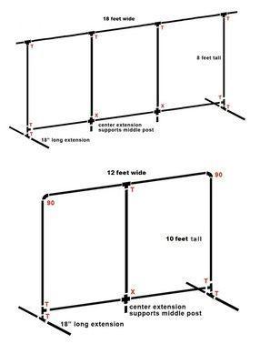 زفاف - PVC Pipe Backdrop