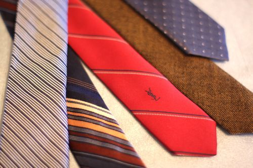 Wedding - Re-Tailor Old Ties Into Skinny Ties