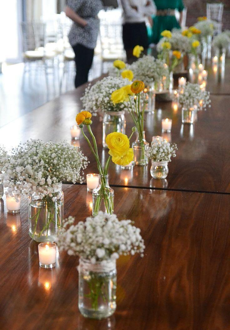 Hochzeit - Flower Vase Decoration