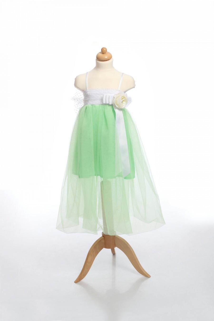 Mint Girl Dress, Wedding Girl Dress, Tulle Girl Dress, Tutu Dress ...